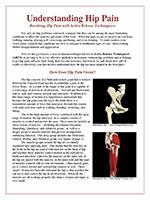 Understanding Hip Pain